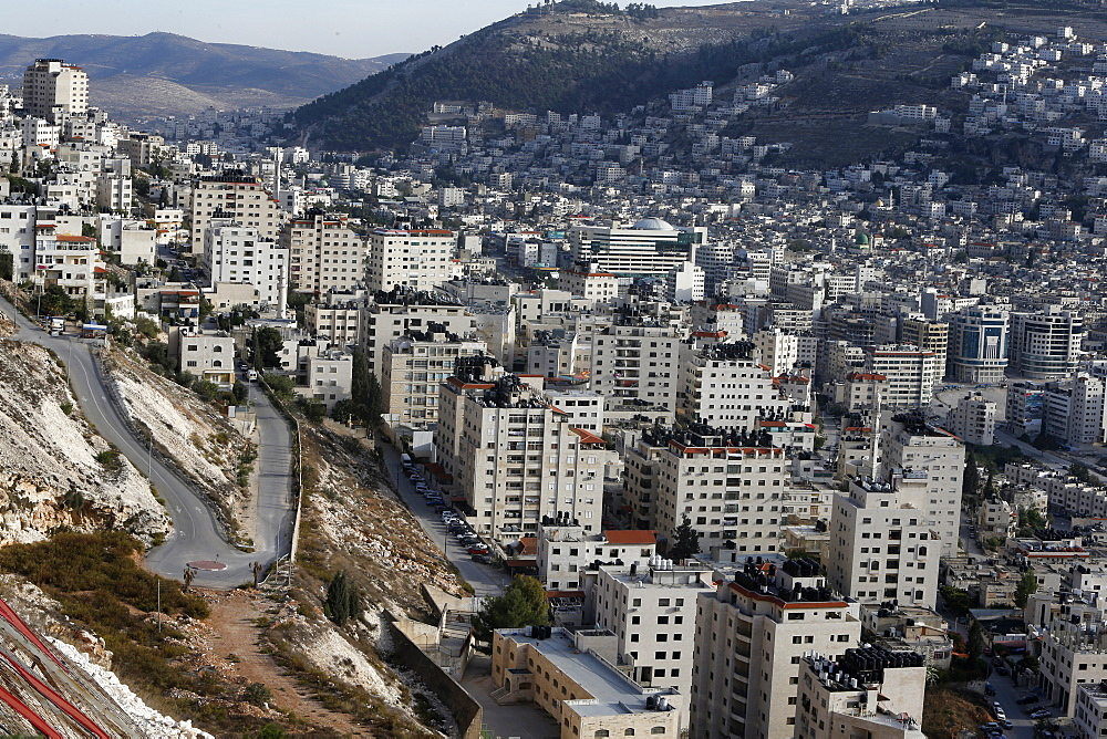 Nablus city, West Bank, Palestinian Territories, Middle East