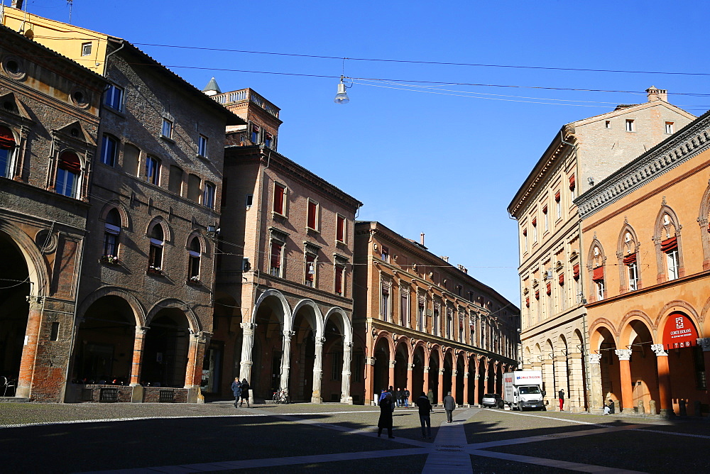 Piazza Santo Stefano, Bologna, Emilia-Romagna, Italy, Europe