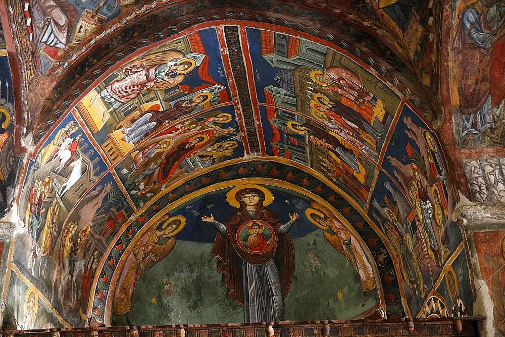 Agios Ioannis Lampadistis (St. John Lampadist) Monastery, Kalapanagiotis, Cyprus, Europe
