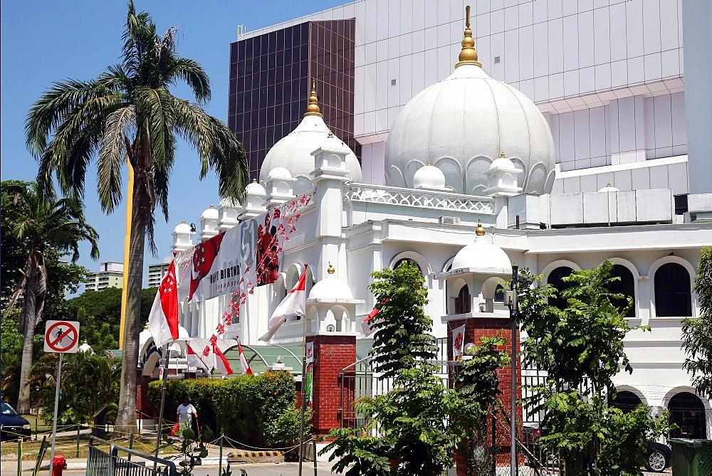 Gurdwara Sahib Silat Road (Silat Road Sikh Temple), Singapore, Southeast Asia, Asia