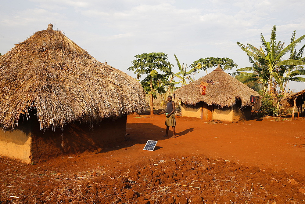 Ugandan village girl, Bweyale, Uganda, Africa