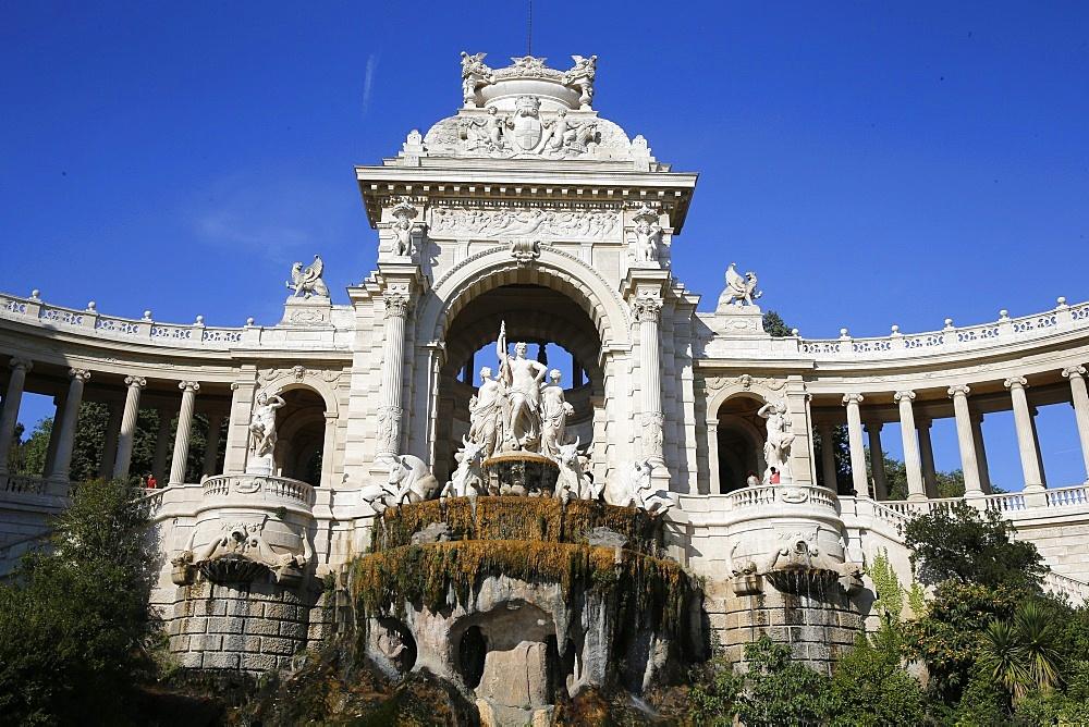 Palais Longchamp (Longchamp Palace), Marseille, Bouches-du-Rhone, Provence-Alpes-Cote d'Azur, France, Europe