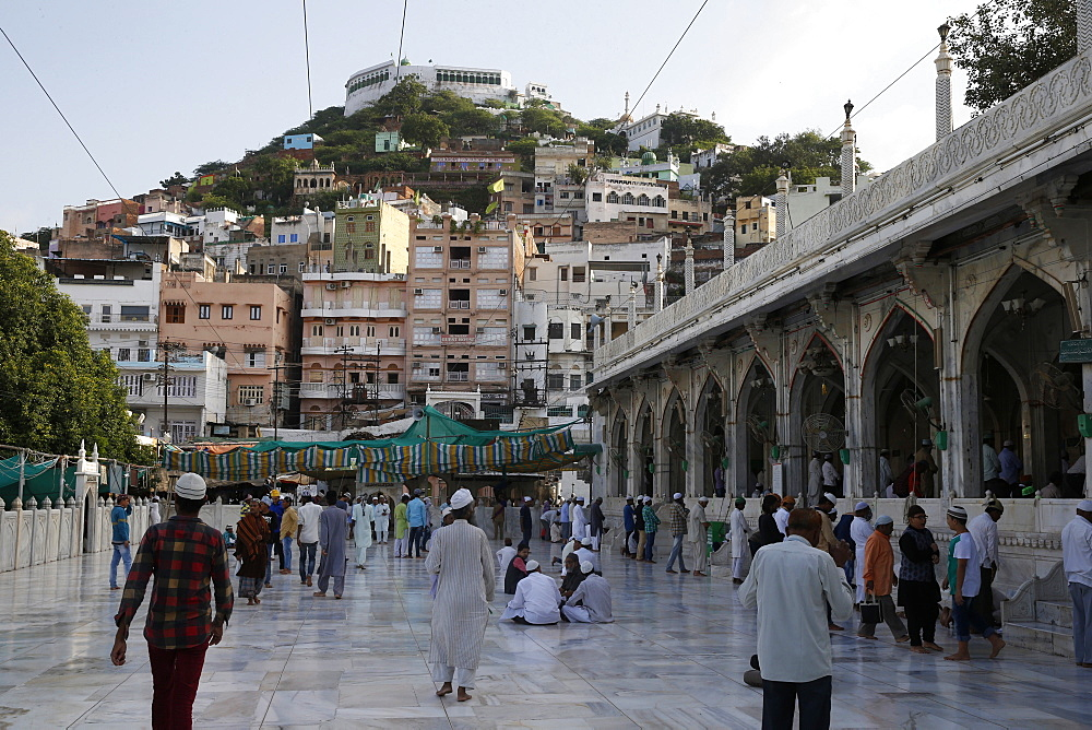 Main Mosque, Ajmer Sharif Dargah, Rajasthan, India, Asia