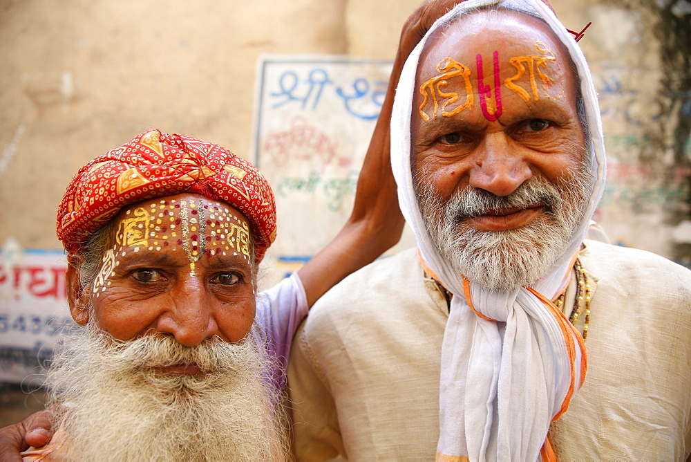 Hindus in Dauji, Uttar Pradesh, India, Asia