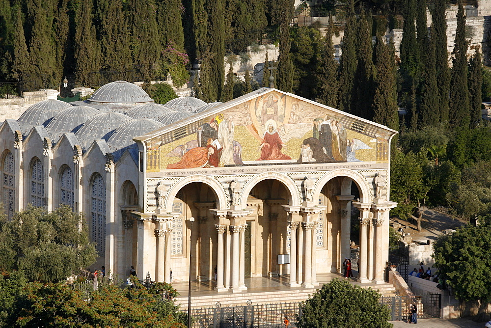 Church of All Nations, Mount of Olives, Jerusalem, Israel, Middle East