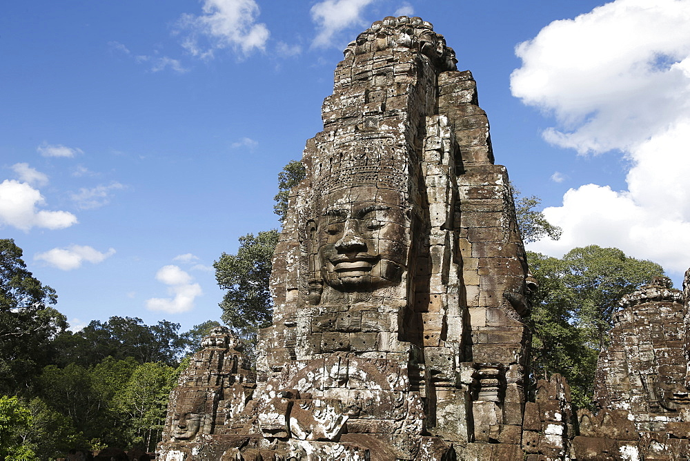 Bayon, Angkor Temple complex, UNESCO World Heritage Site, Siem Reap, Cambodia, Indochina, Southeast Asia, Asia - 809-7183
