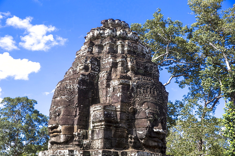 Bayon, Angkor Temple complex, UNESCO World Heritage Site, Siem Reap, Cambodia, Indochina, Southeast Asia, Asia - 809-7184