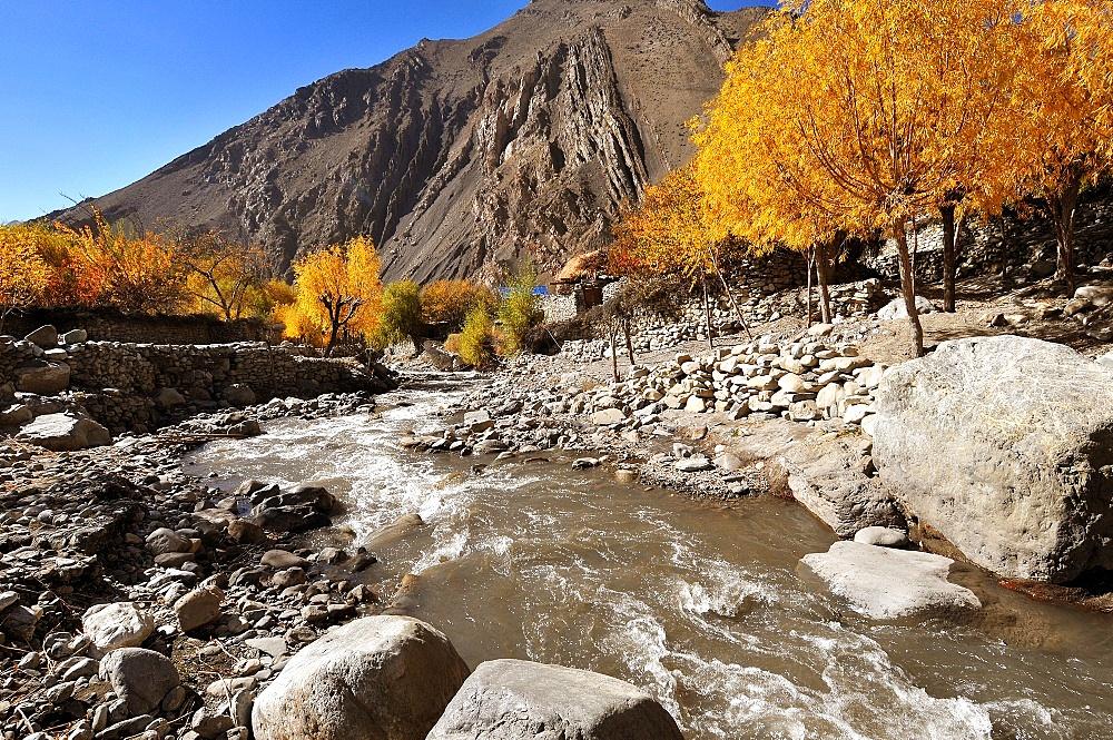 Kali Gandaki River valley, Mustang, Nepal, Himalayas, Asia - 809-7294