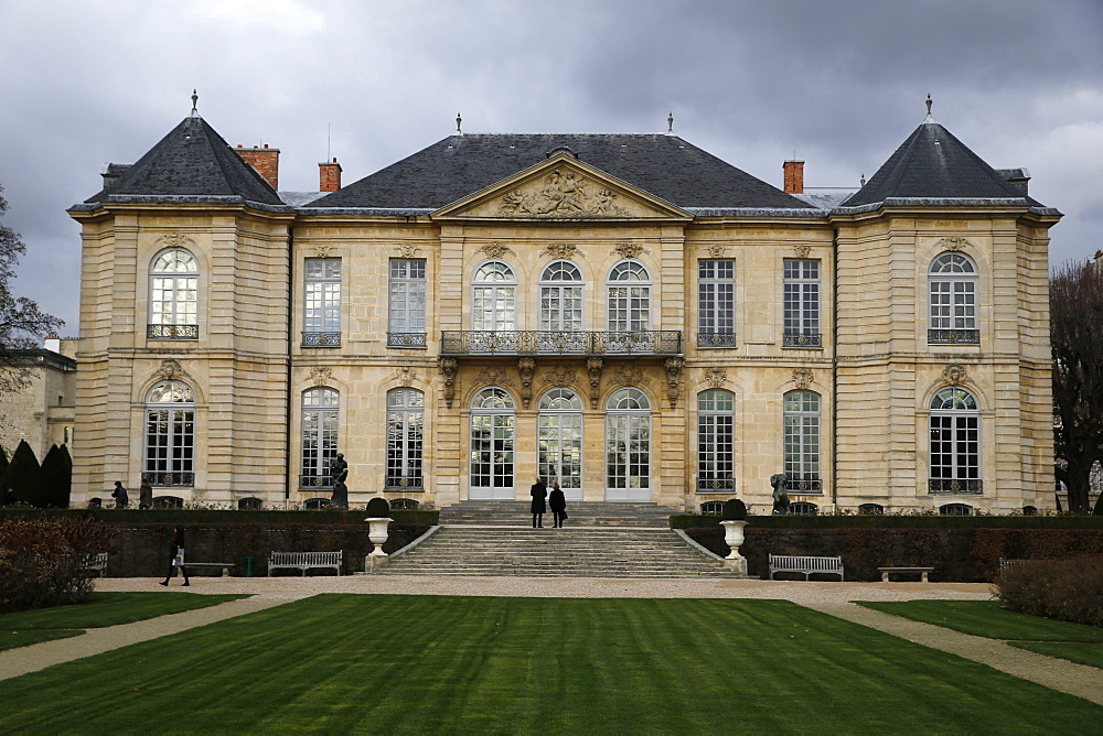 Rodin Museum, Paris, France, Europe - 809-7326
