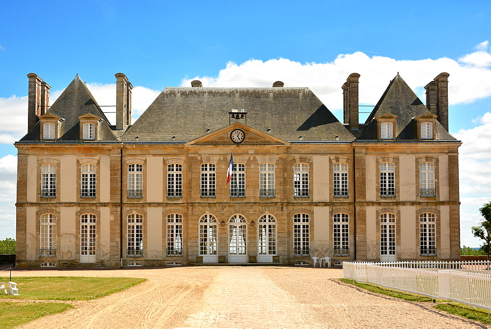 Haras (stud farm) National du Pin, created in 1715, Le Pin-au-Haras, Orne, Normandy, France, Europe