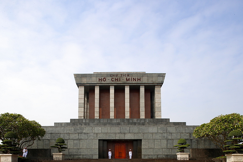 Ho Chi Minh Mausoleum, Hanoi, Vietnam, Indochina, Southeast Asia, Asia - 809-7383