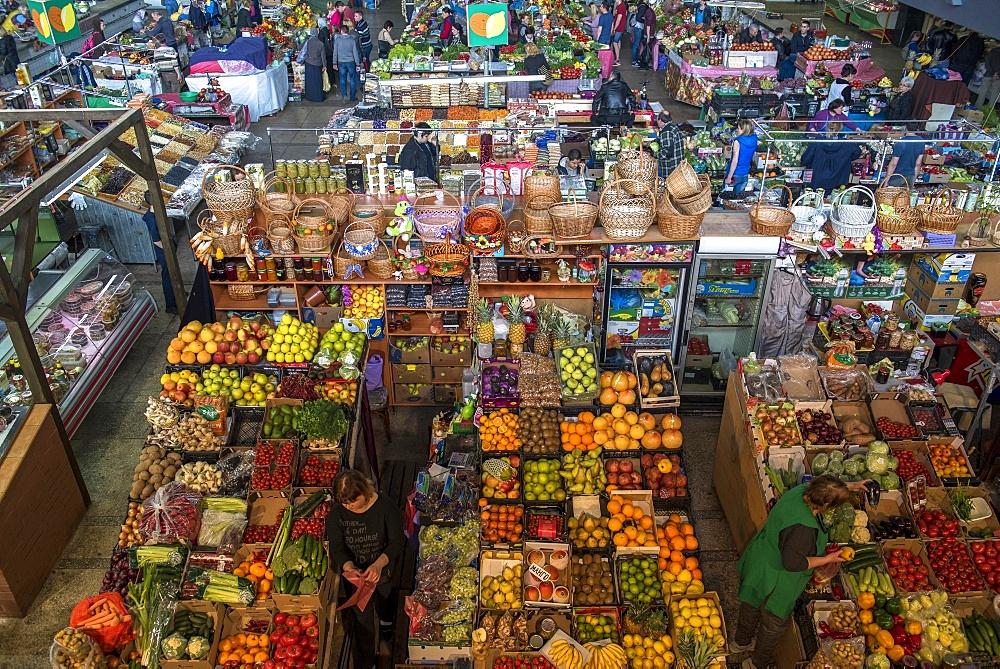 Zhitnii market, Kiev, Ukraine, Europe