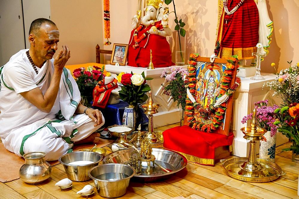 Ramnavami Hindu celebration in Paris, France, Europe