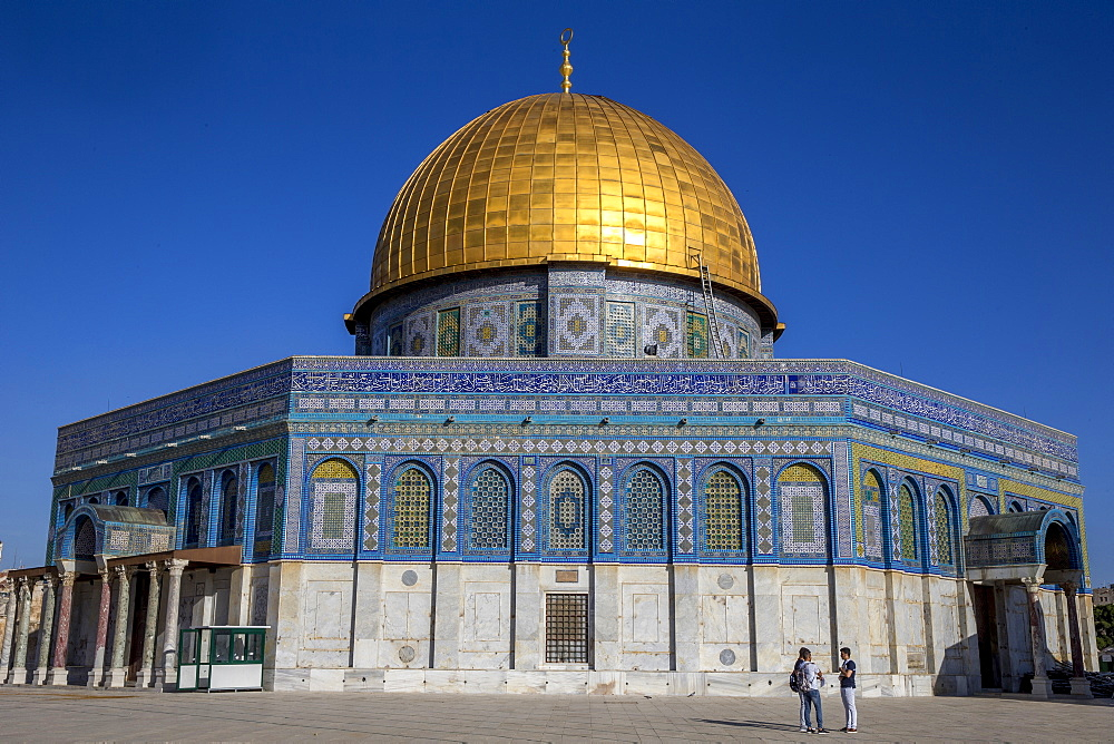 Dome of the Rock, UNESCO World Heritage Site, East Jerusalem, Israel, Middle East - 809-7654