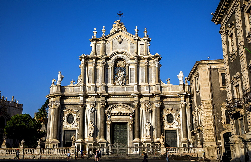 Santa Agata Basilica-Cathedral, Catania, Sicily, Italy, Europe