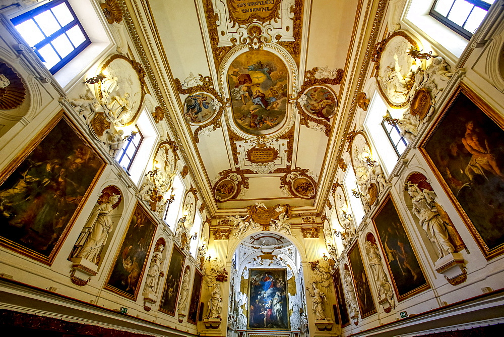 Oratorio del Santissimo Rosario in San Domenico (Oratory of the Rosary of St. Dominic), Palermo, Sicily, Italy, Europe