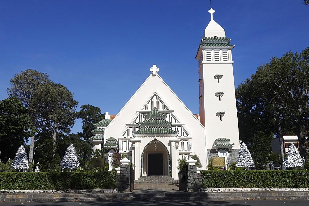 Vung Tau catholic church.