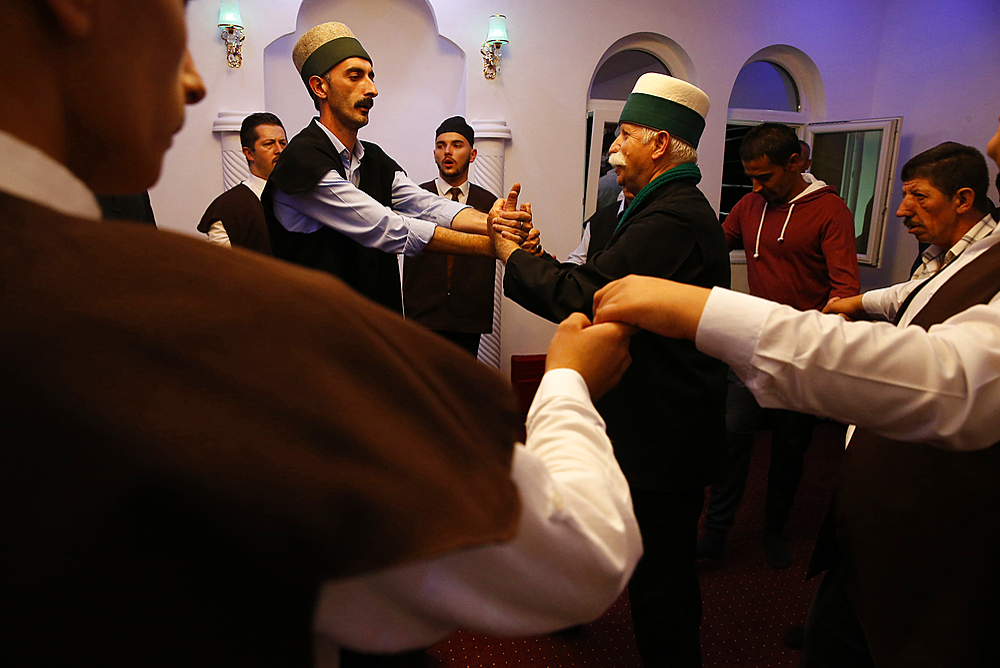 Halvetiye Sufi Tariqa Zikhr in Gjakova, Kosovo, Europe