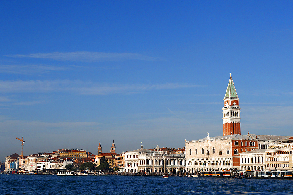 Palazzo Ducale (Doges Palace) and San Marco square, Venice. Italy.