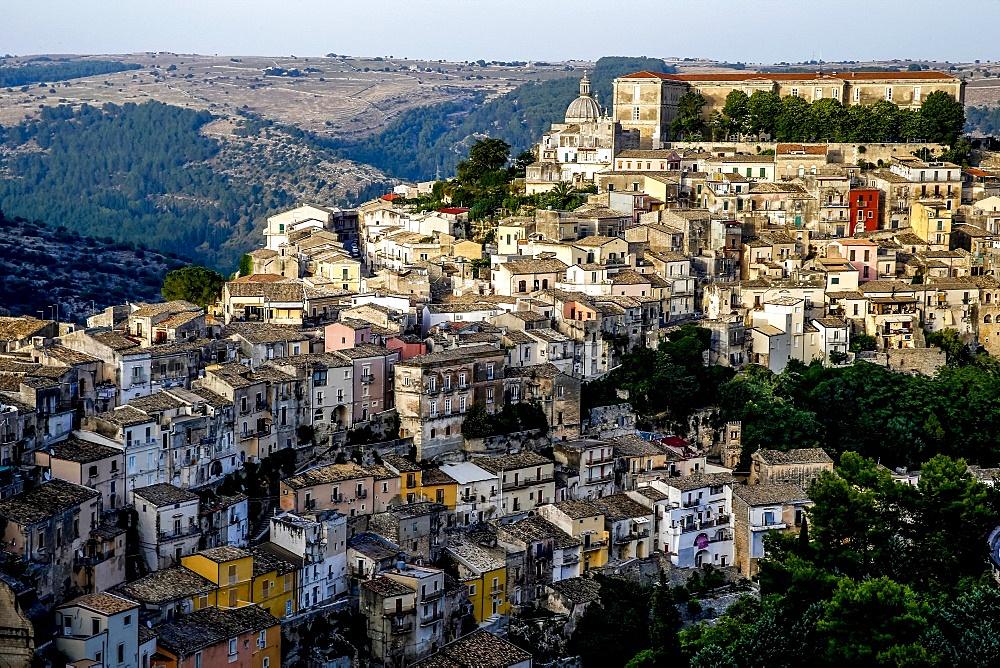 View of Ragusa Ibla, Sicily, Italy.
