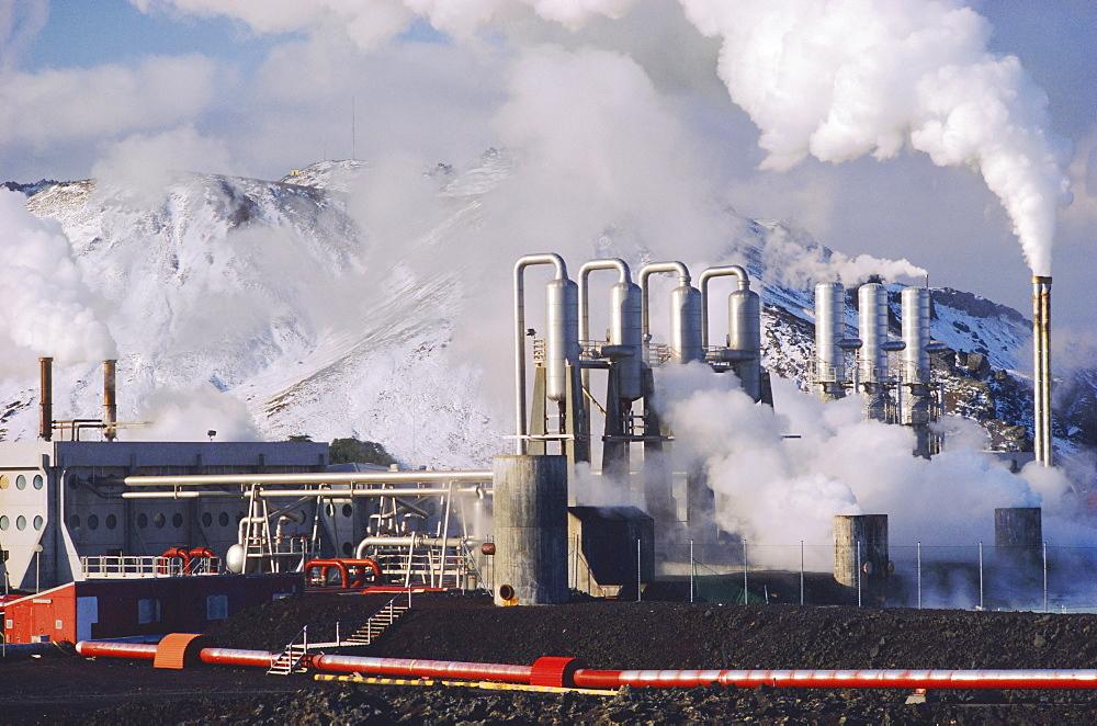 Geo-thermal power plant, Svartsengi, Iceland - 81-572