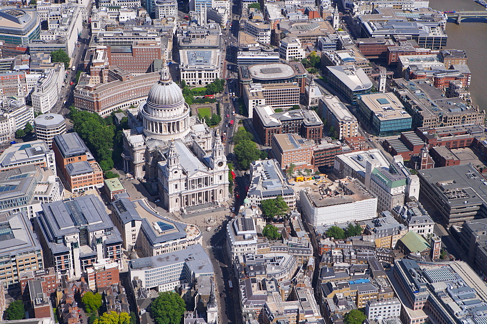 St. Pauls Cathedral, City of London, London, England, United Kingdom, Europe - 812-97
