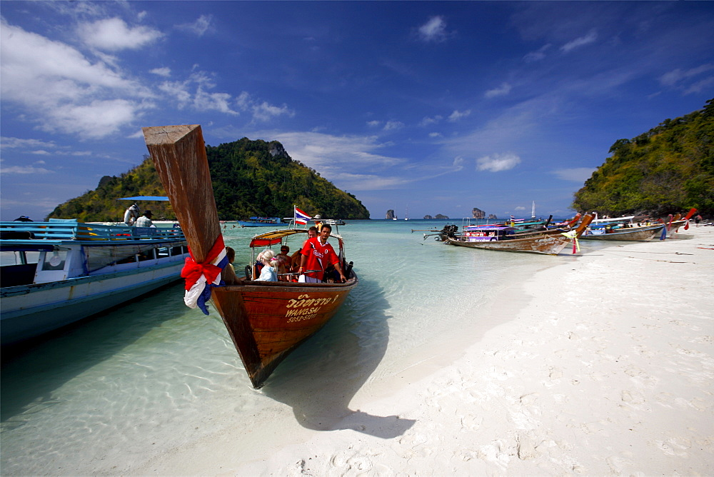 Koh Thab island, in Krabi province, Thailand, Southeast Asia, Asia