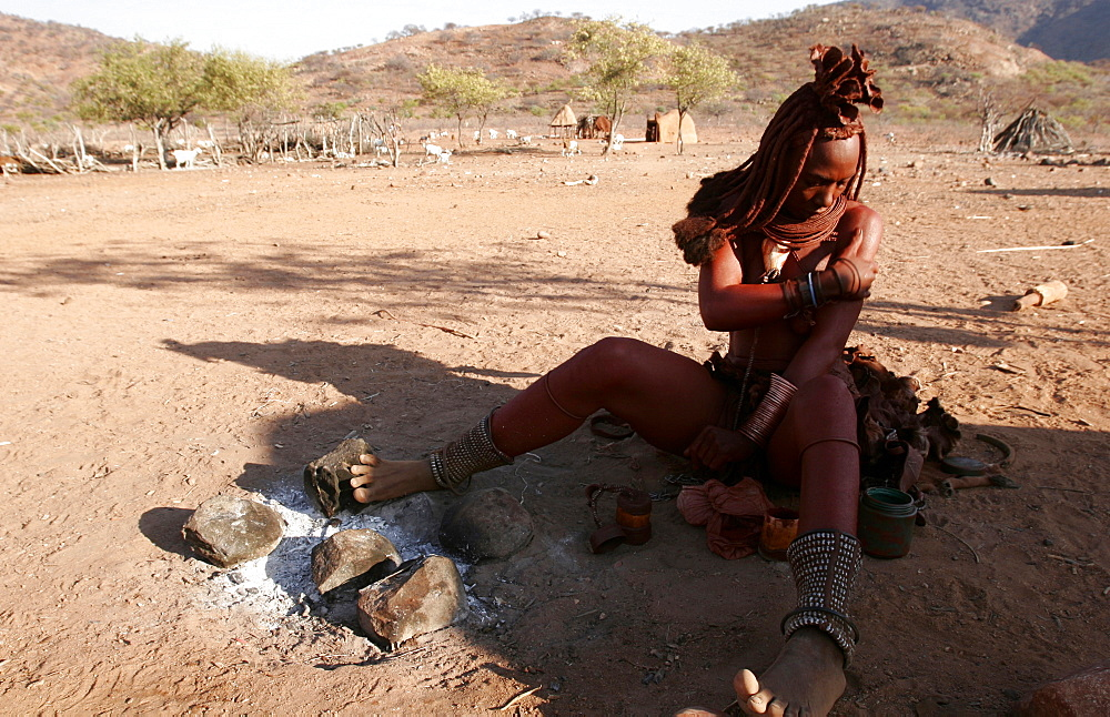 High quality stock photos of himba for African body decoration