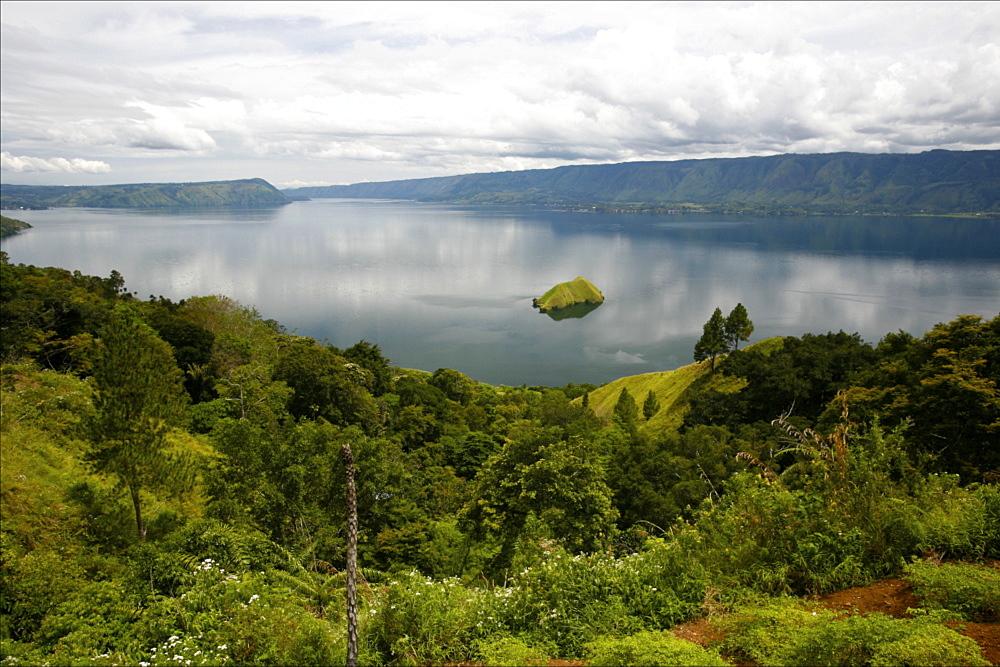View of Lake Toba, Sumatra, Indonesia, Southeast Asia, Asia