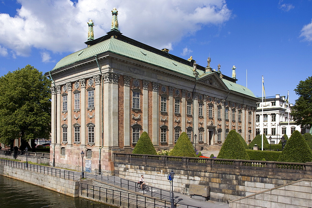 The Swedish House of Lords (Riddarhuset), Stockholm, Sweden, Scandinavia, Europe