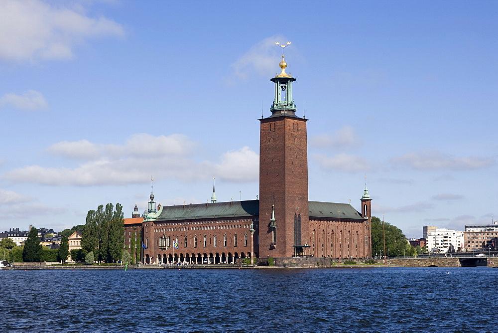 Stockholm City Hall, Stockholm, Sweden, Scandinavia, Europe