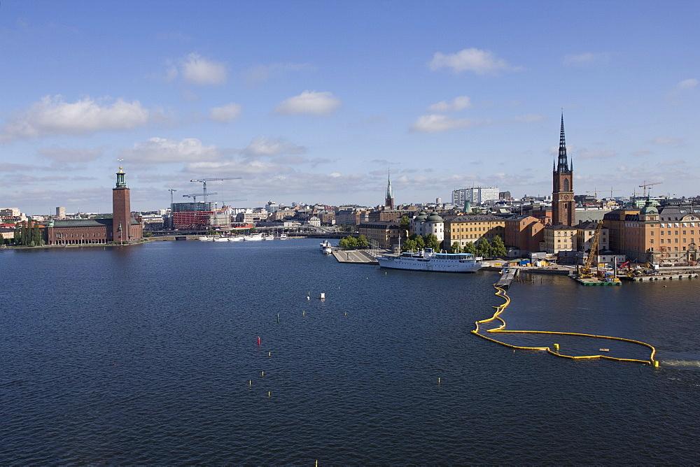 City skyline, Stockholm, Sweden, Scandinavia, Europe