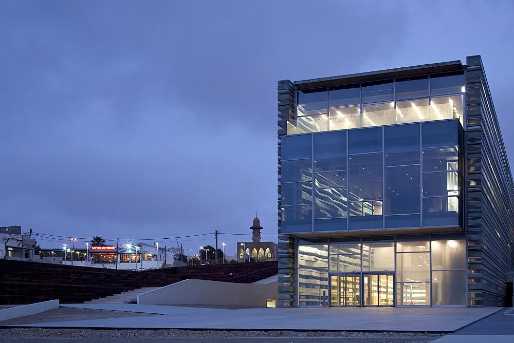 Peres Peace House, architects Massimiliano and Doriana Fuksas, Jaffa, Tel Aviv, Israel, Middle East