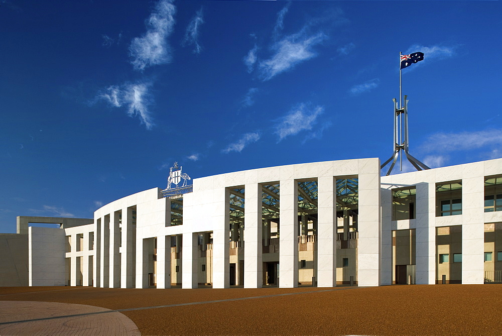 Parliament House of Australia, Canberra, ACT, Australia, Pacific