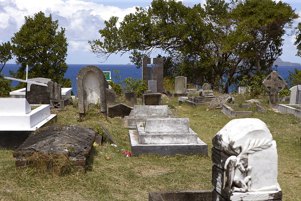 St. Patrick's Cemetery, St. Patrick, Grenada, Windward Islands, West Indies, Caribbean, Central America