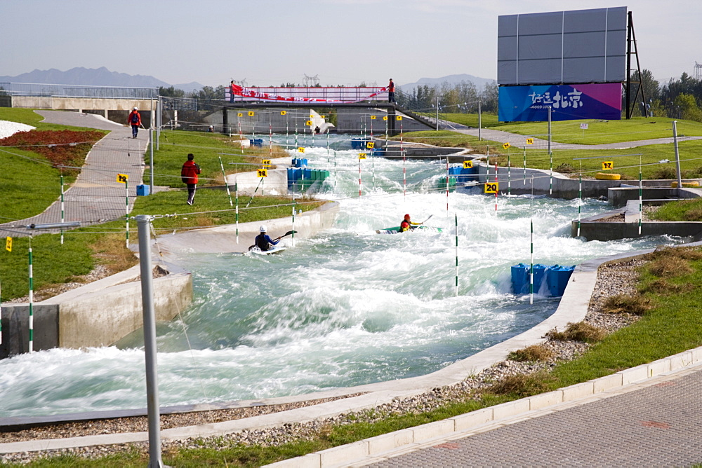 Canoe Kayak Slalom, Shunyi Olympic Rowing-Canoeing Park, architects Bligh Voller Neild, 2008 Olympics, Beijing, China, Asia - 815-2162