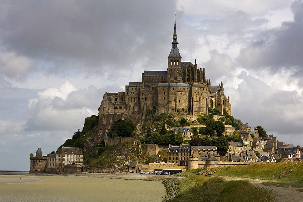 Mont St. Michel, UNESCO World Heritage Site, Normandy, France, Europe - 815-2193