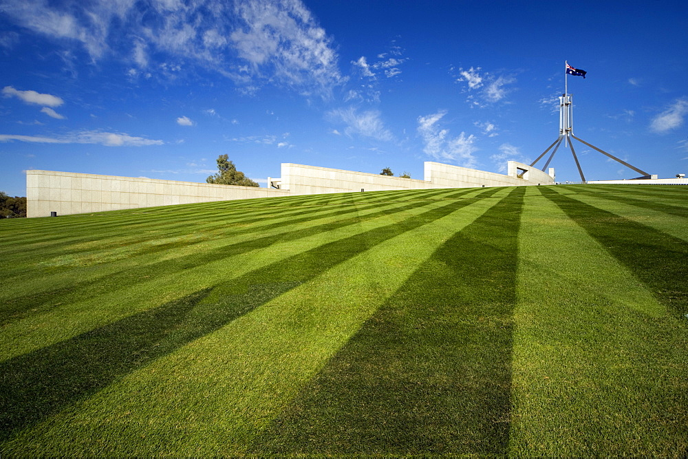 Parliament House, architects Mitchell Giurgola Thorp, Canberra, Australian Capital Territory, Australia, Pacific - 815-2213