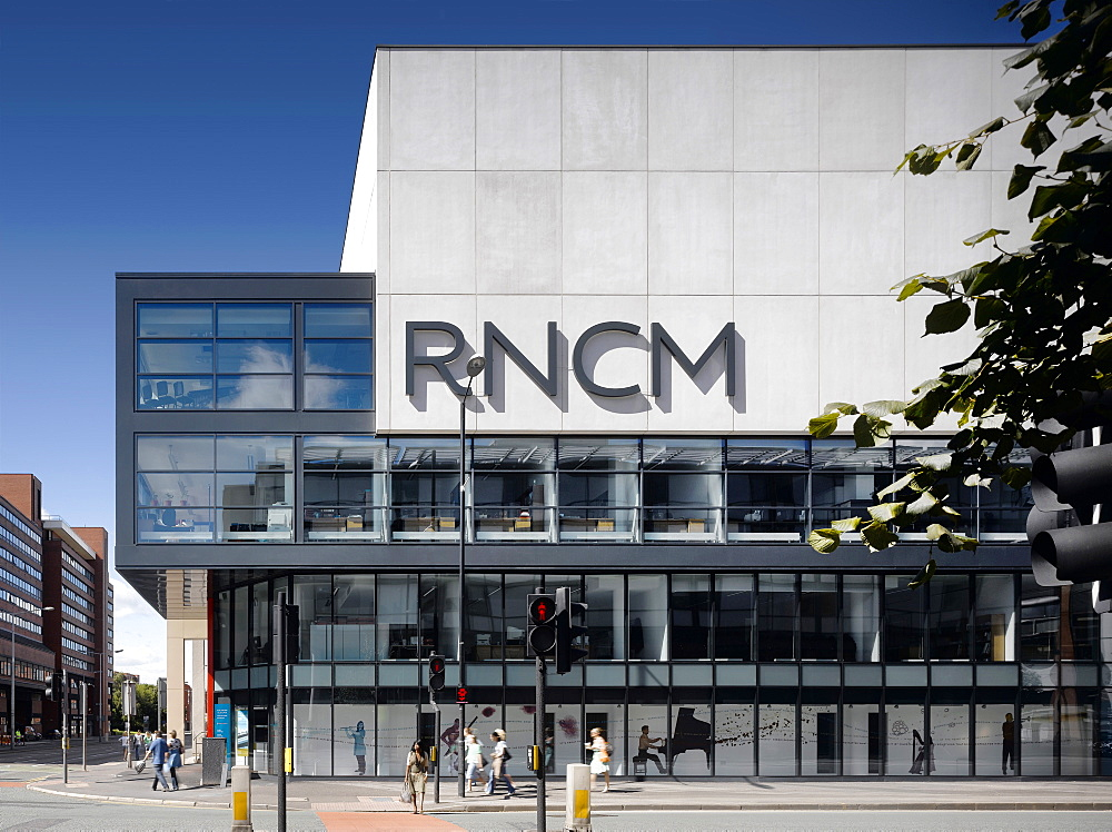 Royal Northern College of Music, architects MBLA, Manchester, Greater Manchester, England, United Kingdom, Europe - 815-2289