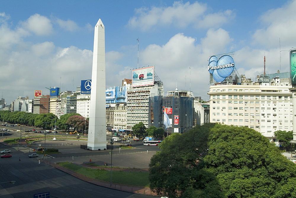 Obelisco 9 de Julio, Buenos Aires, Argentina, South America