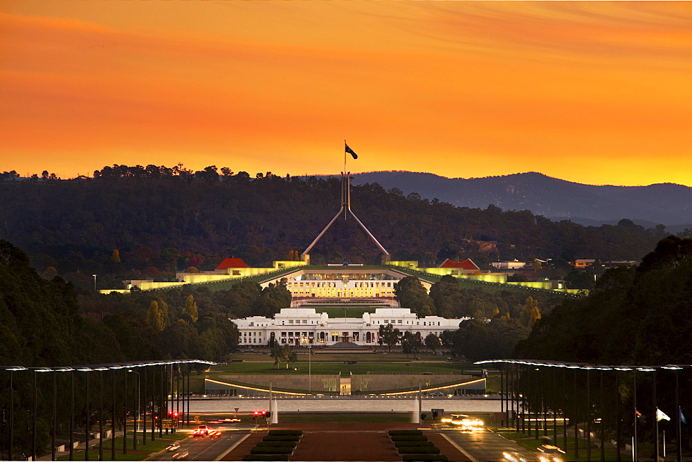 Parliament House of Australia, Canberra, A.C.T., Australia, Pacific