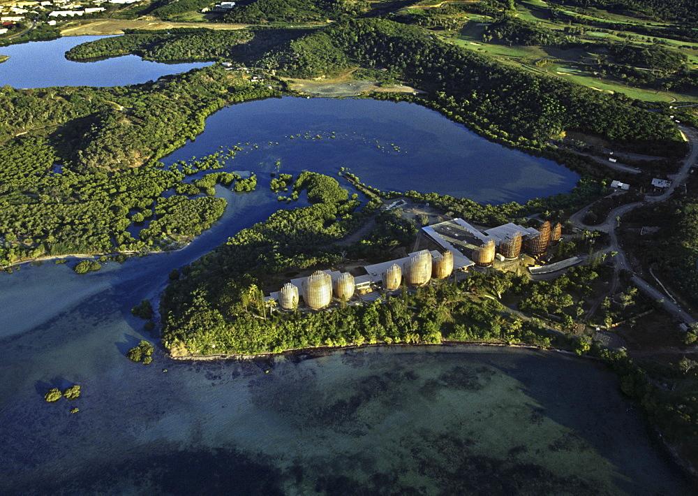 Tjibaou Cultural Centre, architect Renzo Piano, Noumea, New Caledonia, Pacific Islands, Pacific