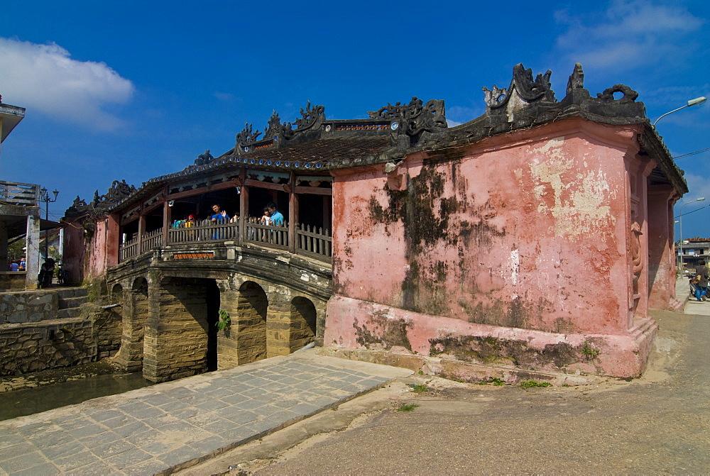 Japanese covered bridge, Hoi An, UNESCO World Heritage Site, Vietnam, Indochina, Southeast Asia, Asia
