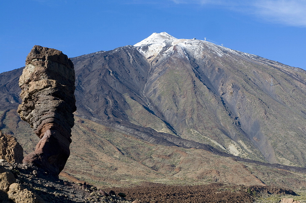 El Teide, Teide National Park, UNESCO World Heritage Site, Tenerife, Canary Islands, Spain, Europe