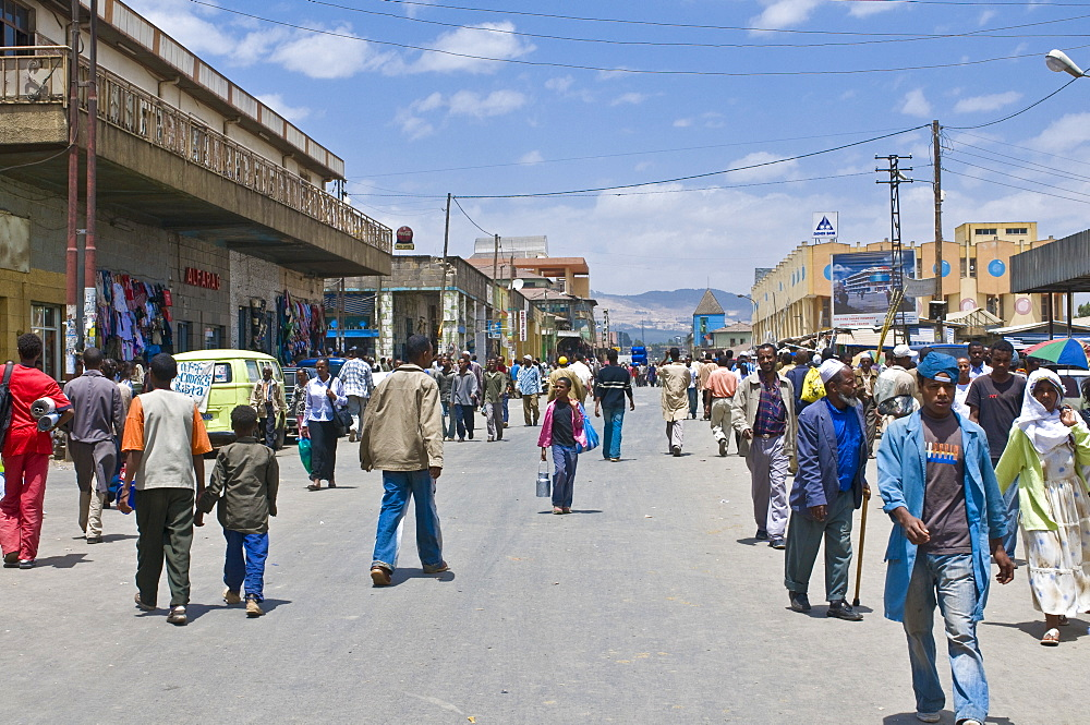 The Merkato, largest market in Addis Ababa, Ethiopia, Africa