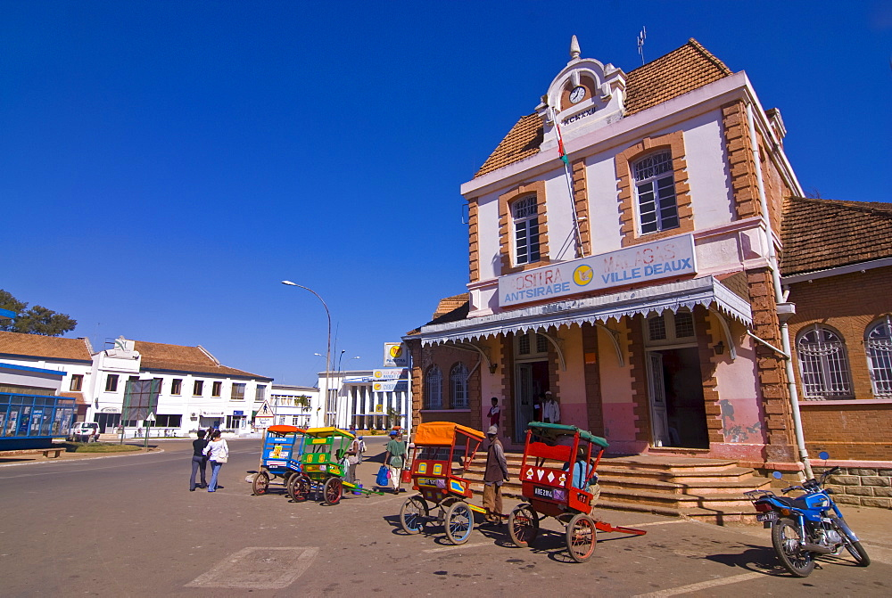 Colonial house in Antsirabe, Madagascar, Africa