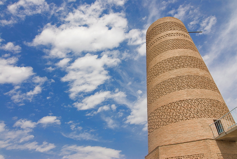 Burana Tower, a minaret, Burana, Kyrgyzstan, Central Asia, Asia