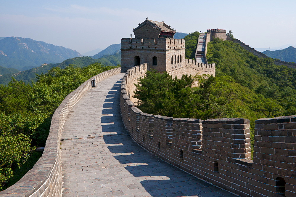 The Great Wall of China at Badaling, UNESCO World Heritage Site, China, Asia