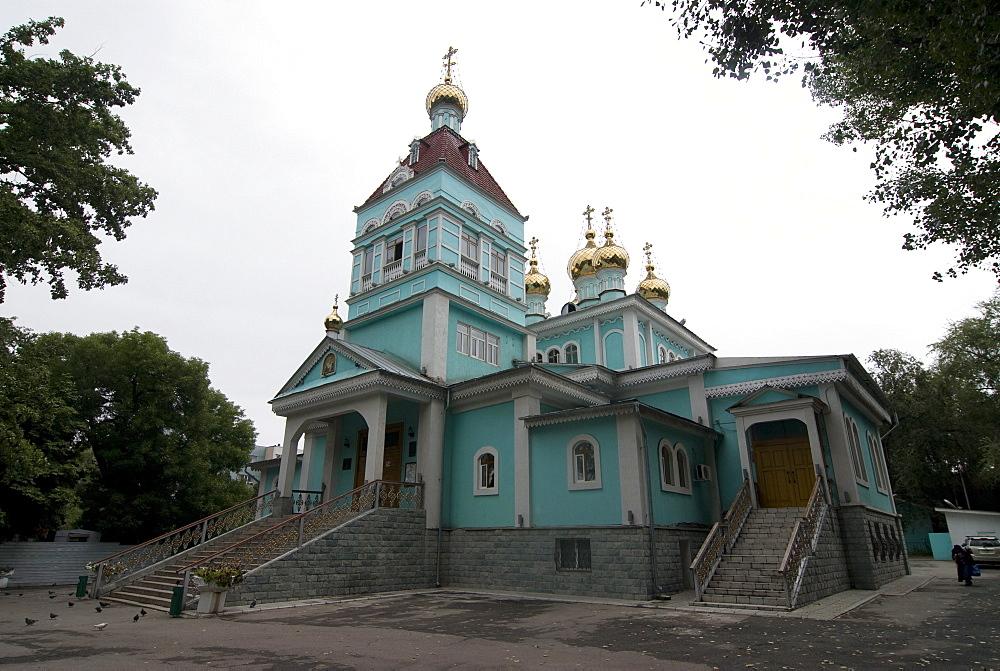 St. Nicholas Cathedral, Alma Ata, Kazakhstan, Central Asia, Asia