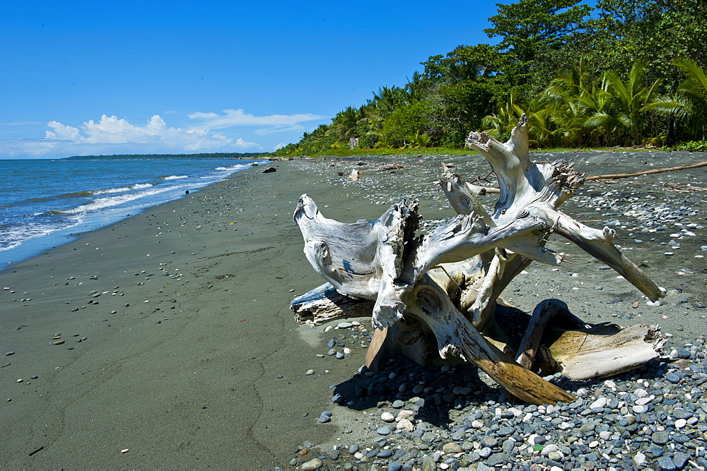 Beach at Savo Island, Savo, Solomon Islands, Pacific